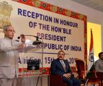 Indian Community hosts reception for President Mukherjee