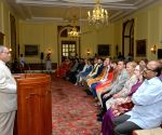 President Mukherjee meets students from UK