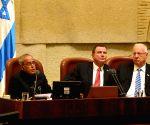 President Mukherjee at Israeli Parliament