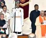Swearing-in ceremony - Ramesh Chandappa Jigajinagi