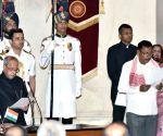 Swearing-in ceremony - Rajen Gohain