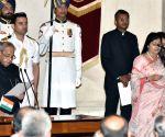 Swearing-in ceremony - Anupriya Patel