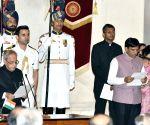 Swearing-in ceremony - Mansukh L Mandaviya