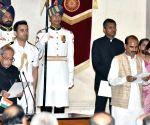 Swearing-in ceremony - Ajay Tamta