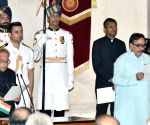 Swearing-in ceremony - Dr. Mahendra Nath Pandey