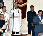 Swearing-in ceremony - Subhash Ramrao Bhamre