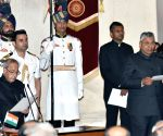 Swearing-in ceremony - P.P. Chaudhary