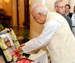 President Mukherjee pays tribute to Neelam Sanjiva Reddy