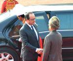 Ceremonial reception for France President