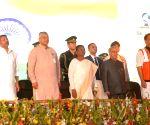 President Mukherjee inaugurates development projects in Jharkhand