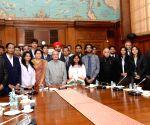 President Mukherjee meets students of IITs, IISc-B and IISERs