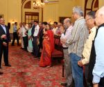 Journalists call on President Mukherjee