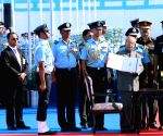 President Mukherjee at Hasimara IAF base
