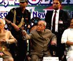 President Mukherjee during a programme organsied by Press Club