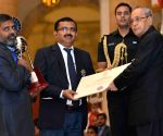 Indira Gandhi National Service Scheme Awards ceremony