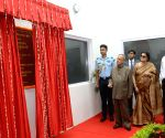 Pranab Mukherjee during the inauguration of recreation club