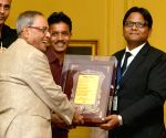 President Mukherjee meets LLB Students