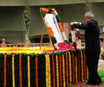 Dr Shankar Dayal Sharma on his 95th birth anniversary in New Delhi