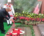 President pays tribute to Indira Gandhi on her death anniversary