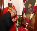 Netaji's birth anniversary celebration - President Mukherjee