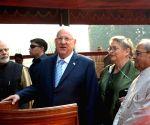 Ceremonial reception for Israel President Reuven Rivlin