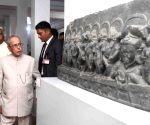 President Mukherjee visits Vikramshila University