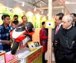 President Mukherjee visits the Innovation Exhibition