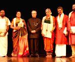 New Delhi:Priyadarshini Govind's performance at Rashtrapati Bhavan