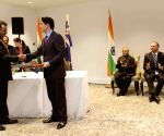India-New Zealand sign agreements