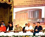 President Mukherjee visits Srikrishna temple