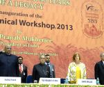 President Pranab Mukherjee, with Union Agriculture Minister Sharad Pawar inaugurating the Workshop