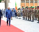 President Kovind visits Presidential Palace of the Marina in Benin