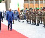 President Kovind visits Presidential Palace of the Marina in Benin