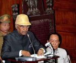 President Kovind addresses at a special session of Mizoram Assembly