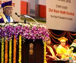 President Kovind at the 1st Convocation of NIFTEM