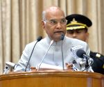 President Kovind at the third anniversary celebrations of Speaker's Research Initiative