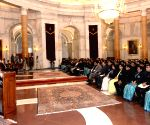 Indian Revenue Service from National Academy of Direct Taxes officers meet President Kovind
