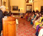 President Kovind meets Women Achievers