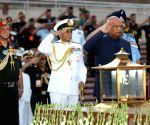President Kovind visits National War Memorial