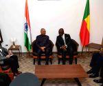 Cotonou (Benin): President Kovind arrives Benin
