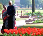 President Kovind at Mughal Gardens