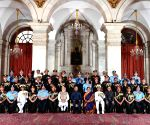 President Kovind, PM Modi with Gallantry Award recipients