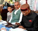 President Kovind at a Shimla restaurant