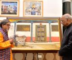 Painting exhibition - President Kovind
