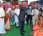 President attends Dharmic Leela Committee's Dussehra Festival