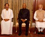 President Kovind administers oath to Vice President