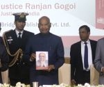 "President Kovind at the launch of book ""Law, Justice and Judicial Power: Justice P.N. Bhagwati's Approach"