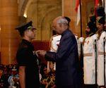 Defence Investiture - I - President Kovind - Kirti Chakra