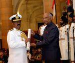 Defence Investiture - I - President Kovind - Param Vishisht Seva Medal