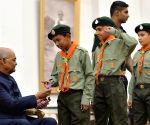 President Kovind meets students on Children's Day